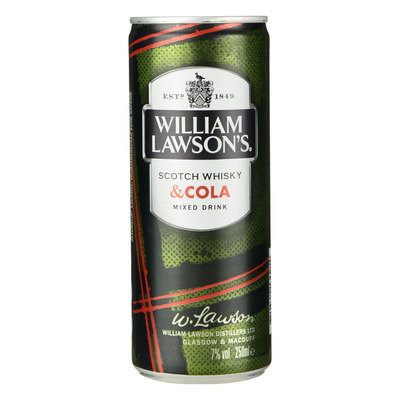 William Lawson`s met Cola